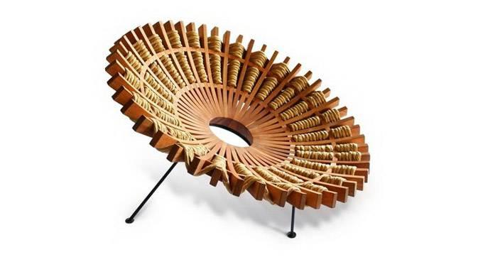 Maria кресло от дизайнера Рауля Эррероя Теллеса