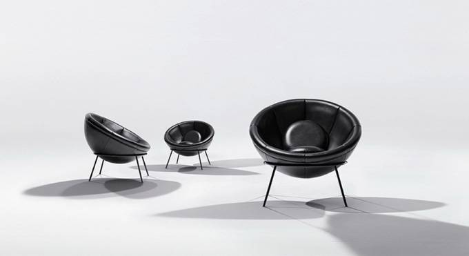Bardi's Bowl кресла от Arper и Instituto Lina Bo и P.M. Bardi