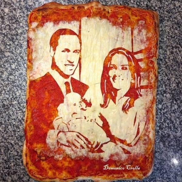 Пицца-арт от Доменика Кролла