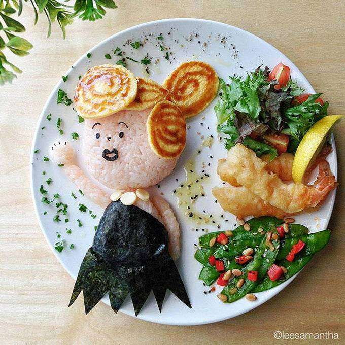 флинстоуны из еды