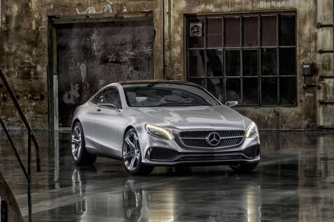 Mercedes-Benz S-Class 2015 не что иное как преемник роскошных купе серии CL-Class