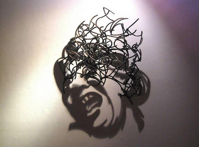 Искусство теней от Larry Kagan - лицо