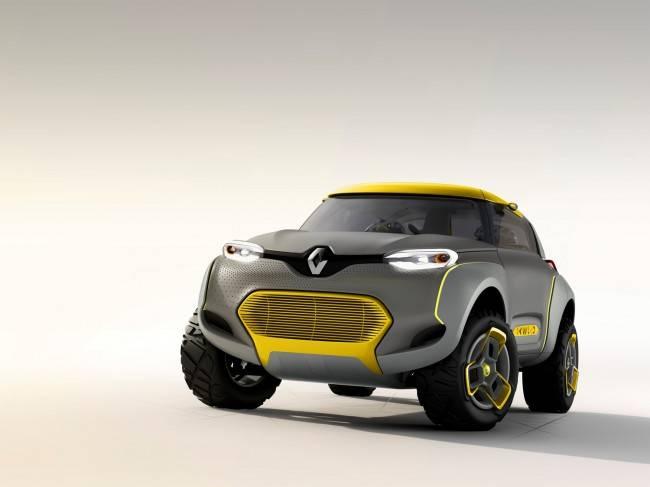 Новый Renault, получивший название Kwid