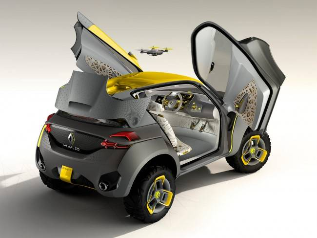 Дроны для автомобилей от Renault