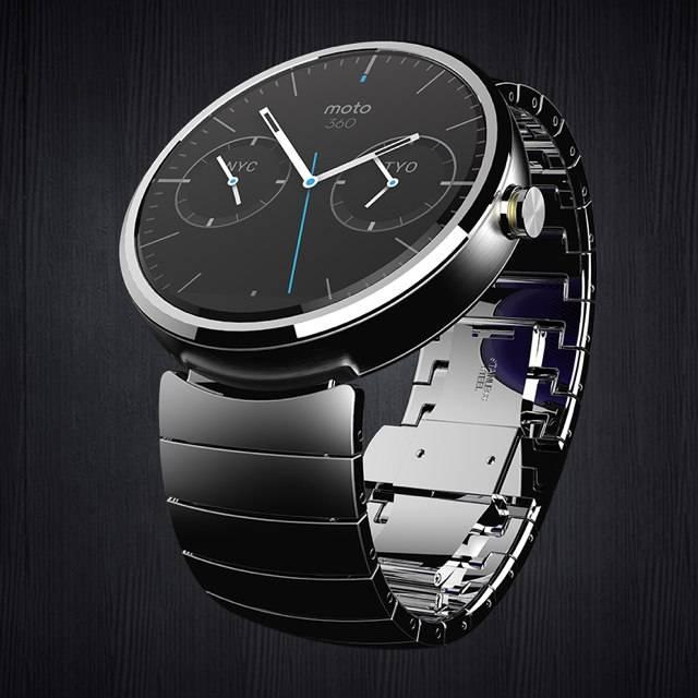 Motorola Moto 360: первые часы проекта Android Wear