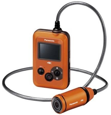 Экшн-камера Panasonic HX-A500 с возможностью видеозаписи в разрешении 4K 30p/25p-2