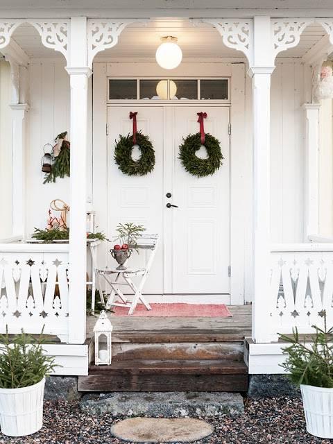 Рождество в скандинавском стиле