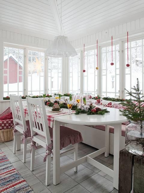 Украшение дома в скандинавском стиле
